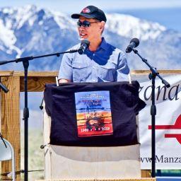 Karen Korematsu, Dale Minami at 50th Manzanar Pilgrimage